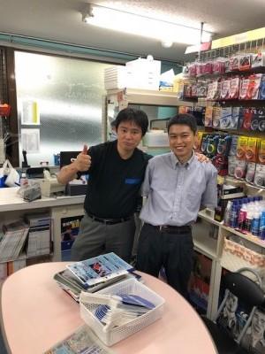 長屋さんと富田さん